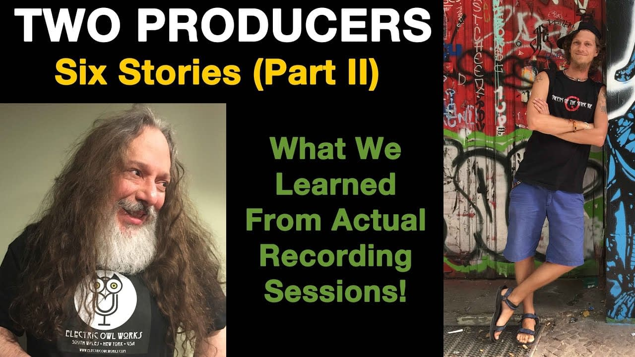 Chaz and Ady 2 music producers sharing 6 stories from the recording studio