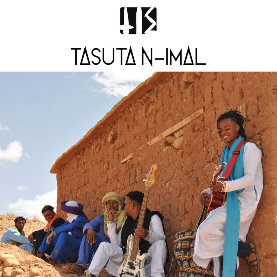Band Tasuta N-Imal together in Boumalne dades with instruments | Hit the road music studio