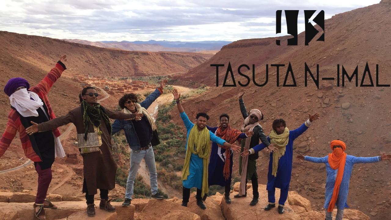 Band tasuta N-imal with sound guy and Kasia
