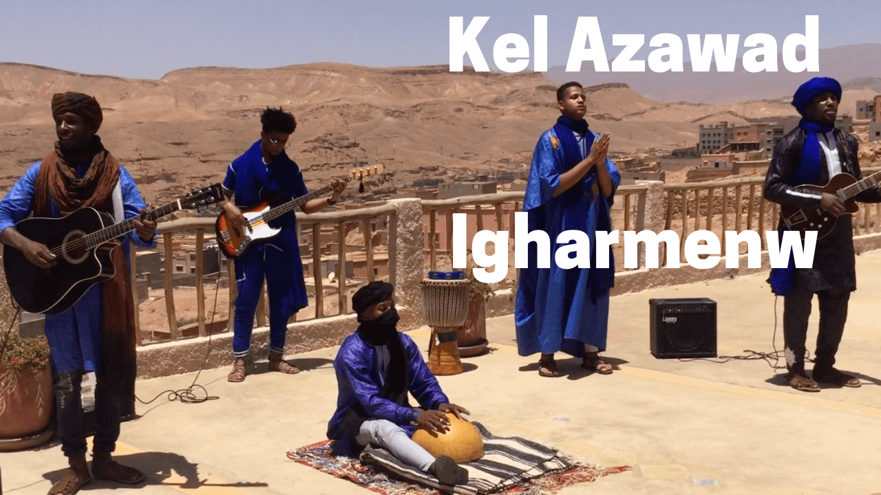 kel azawad performing their song