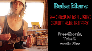 BUba Maro Thumbnail for free guitar lessons