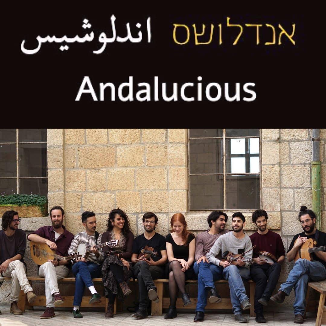 Andalucious Band together   Hit the road music studio
