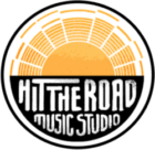 Hit The Road Music Studio | New Logo with the Sun | Mobile Recording Studio
