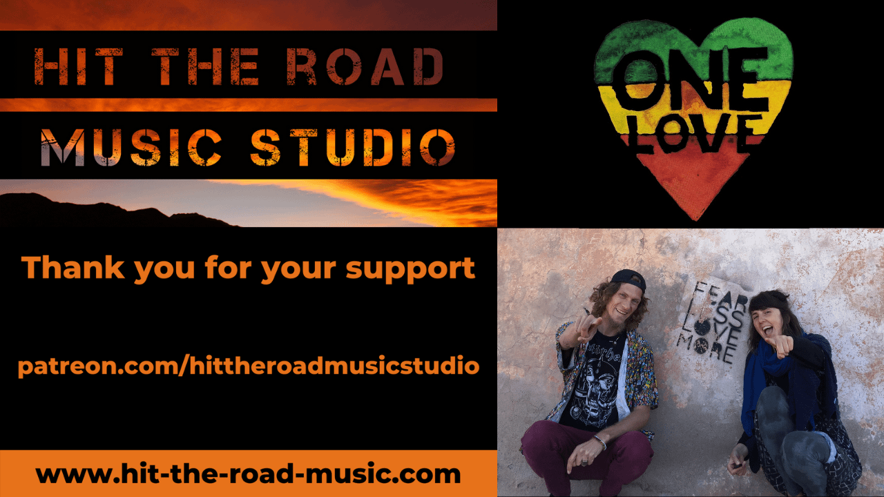 Join us on Patreon ady and kasia hit the road music studio www.patreon.com/hittheroadmusicstudio one love