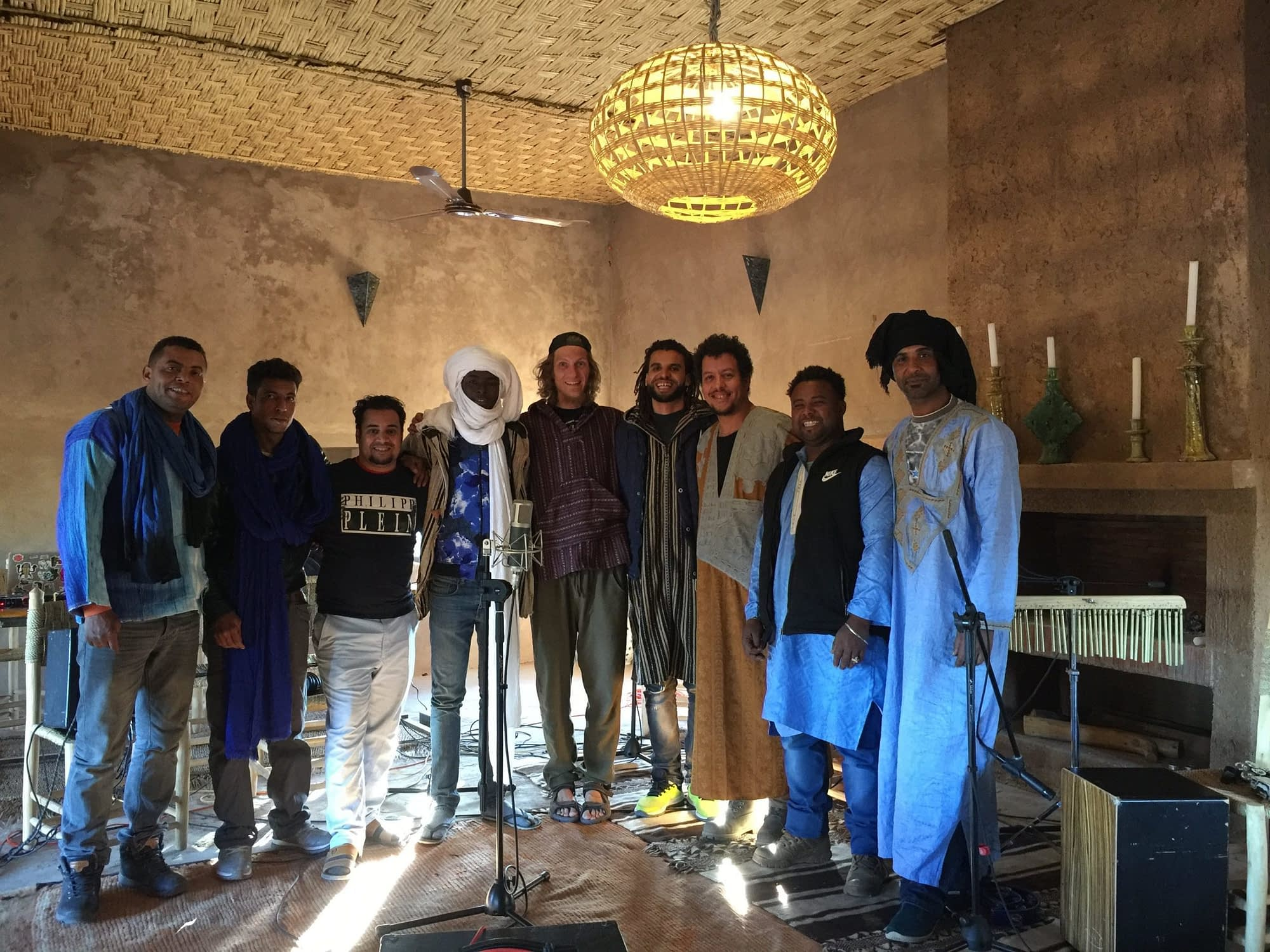 Hit the road music studio with daraa tribes